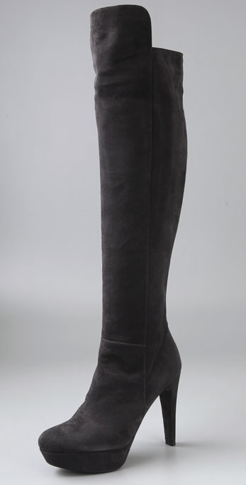 Stuart Weitzman Vigor Bold High Heel Over the Knee Boots