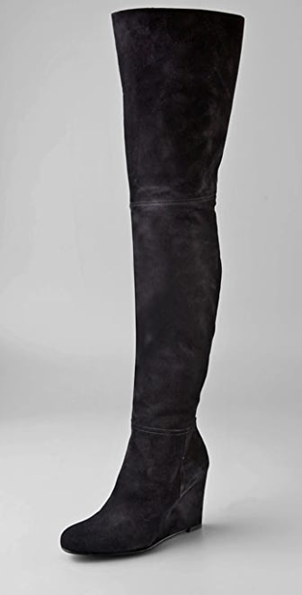 Stuart Weitzman Hiup Over the Knee Suede Boots