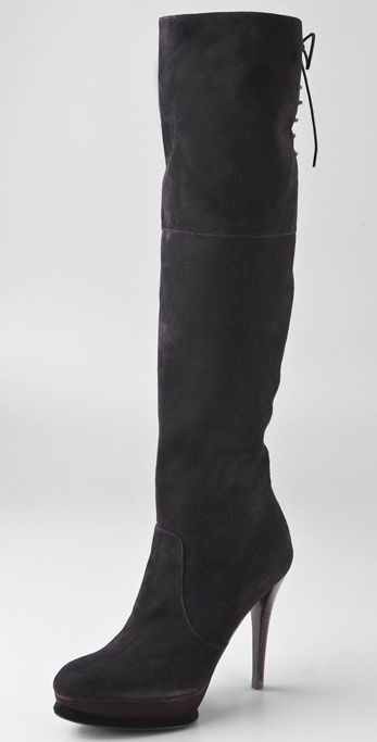 Stuart Weitzman Wayup Over the Knee Suede Boots