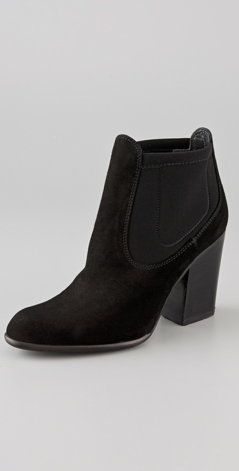 Stuart Weitzman Held Suede Ankle Booties
