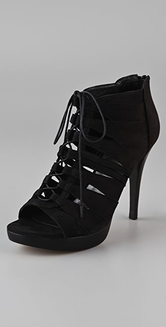 Stuart Weitzman Hispeed Cutout Booties