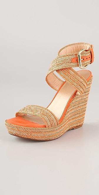 Stuart Weitzman Encore High Wedge Sandals
