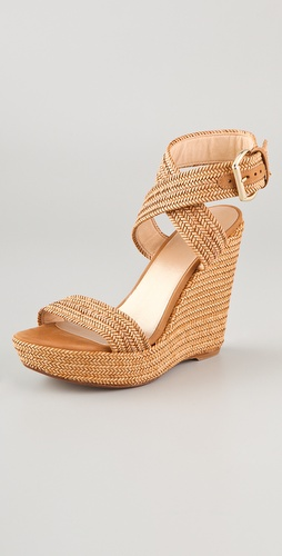 Stuart Weitzman Encore High Wedge Sandals