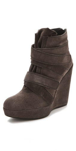 Stuart Weitzman Wildchild Suede Booties