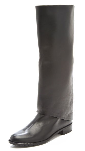 Stuart Weitzman Pantalon Fold Over Boots