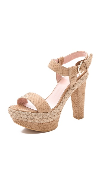Stuart Weitzman Loner Jumprope Sandals