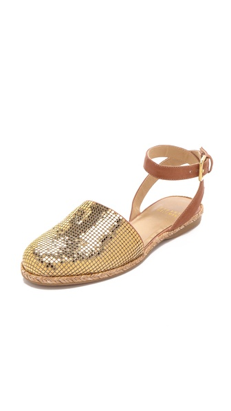Stuart Weitzman Armor Chainmail Flats