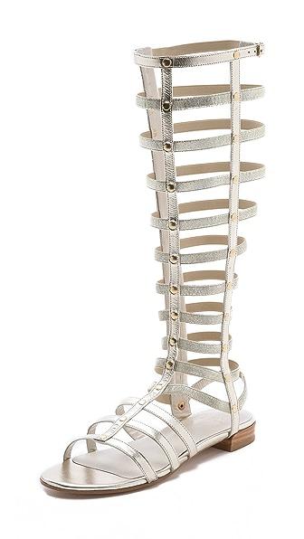 Stuart Weitzman Gladiator Knee High Sandals