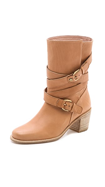 Stuart Weitzman Dallas Wrap Strap Boots