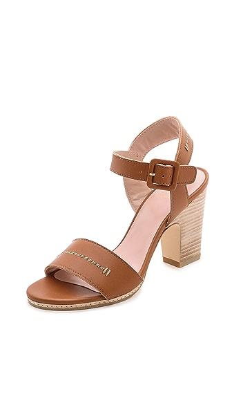 Stuart Weitzman Bandy Block Heel Sandals