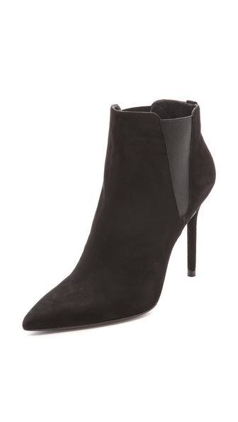 Stuart Weitzman Apogee Pointed Toe Booties