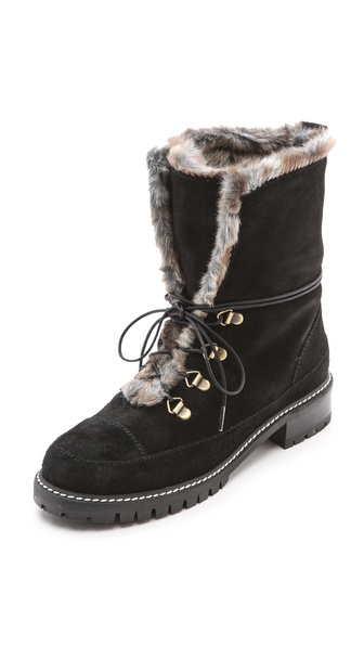 Stuart Weitzman Bobsled Hiking Boots