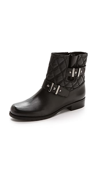 Stuart Weitzman Download Quilted Moto Boots