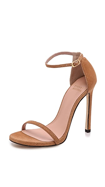 Stuart Weitzman Nudist 110 Sandals