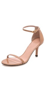 stuart weitzman naked 65mm patent sandals