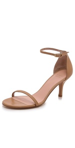 stuart weitzman naked 65mm leather sandals