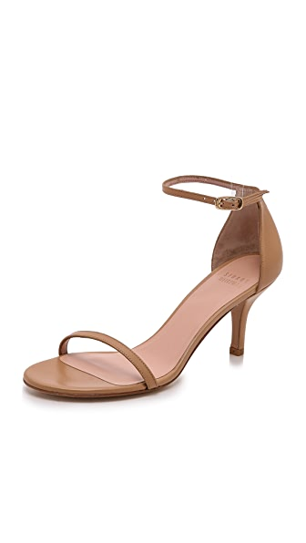 Stuart Weitzman Naked 65mm Leather Sandals