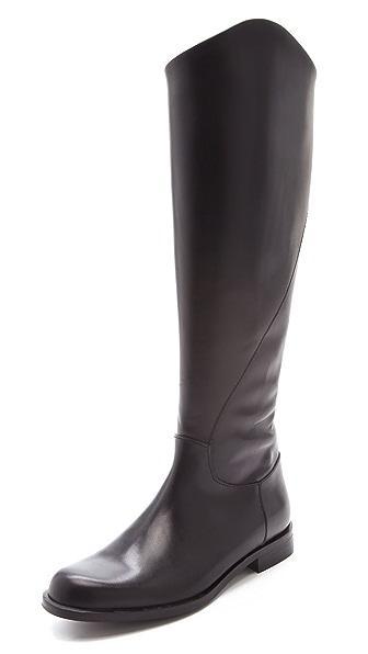 Studio Pollini Flat Riding Boots