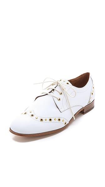 Studio Pollini Eyelet Loafers