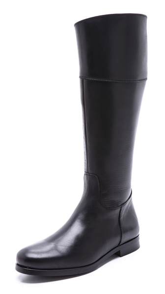 Studio Pollini Flat Tall Riding Boots