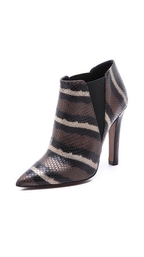 Studio Pollini Snake High Heel Booties