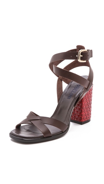 Studio Pollini Block Heel Sandals