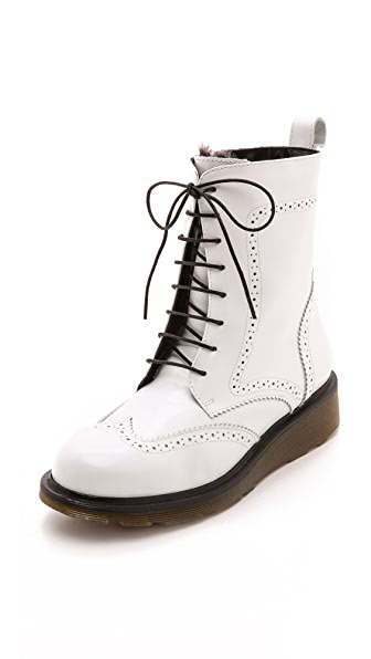 Studio Pollini Lined Lace Up Booties