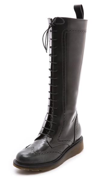 Studio Pollini Tall Combat Boots