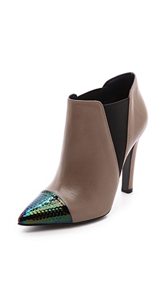 Studio Pollini Cap Toe Booties