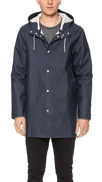 Stutterheim Stockholm Blå Raincoat