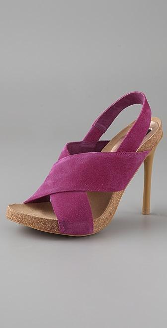 Steven Calvin Suede Sandals