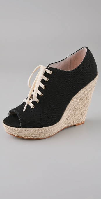 Steven Wyllow Wedge Oxford Espadrilles