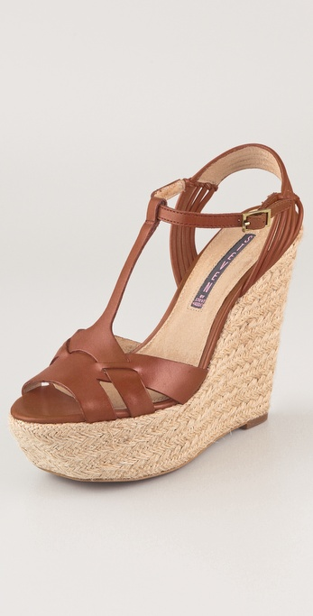 Steven Wikka Wedge Sandals
