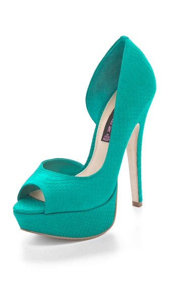 Steven Amplifyd Peep Toe Platform Pump