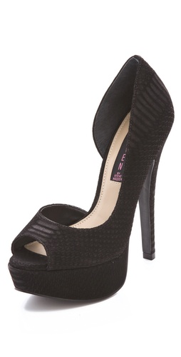 Steven Amplifyd Peep Toe Platform Pump at Shopbop / East Dane