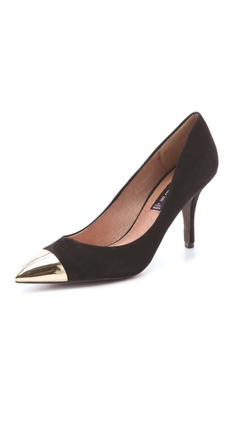 Steven Fearles Cap Toe Pumps