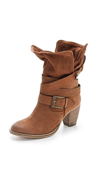 Steven Johnnyy Buckle Boots