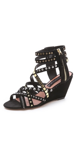 Steven Soulfil Studded Zip Sandals