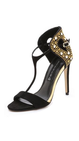 Steven Sertia T Strap Sandals