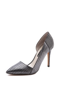 Steven Walker Metallic d'Orsay Pumps