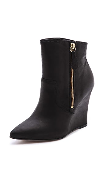 Steven Meter Wedge Booties