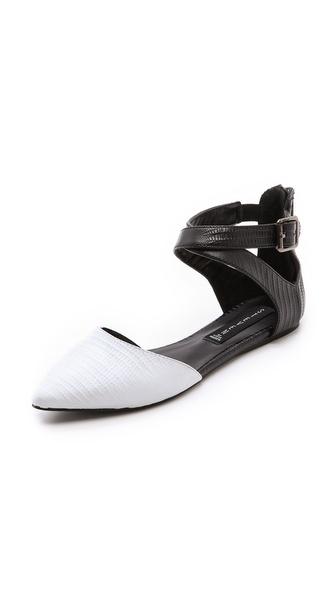 Steven Elina Ankle Strap Flats