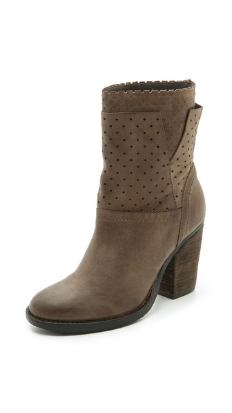 Steven Kobra Perforated Booties