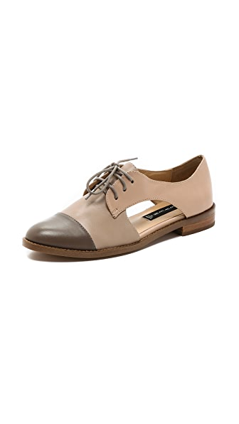 Steven Allover Cutout Oxfords