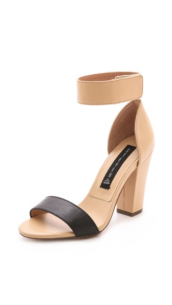 Steven Nuvess Ankle Strap Sandals