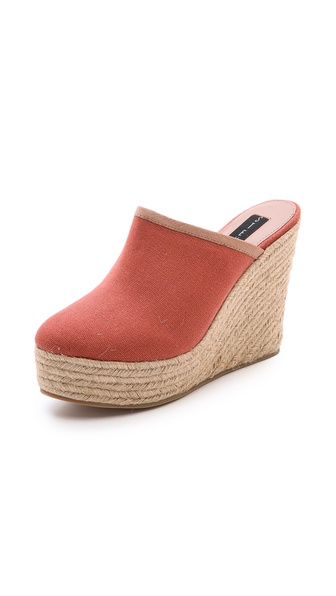 Steven Wonderr Espadrille Mules - Coral at Shopbop / East Dane