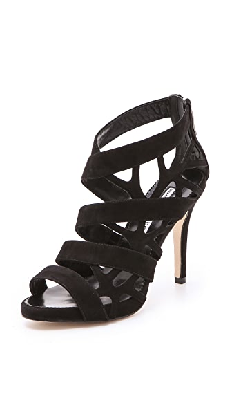 Suecomma Bonnie Web High Heel Sandals
