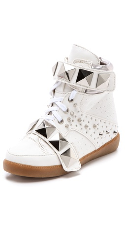 Suecomma Bonnie Studded Platform Sneakers at Shopbop.com