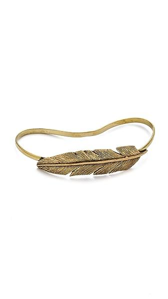 SunaharA Malibu Feather Hand Bracelet