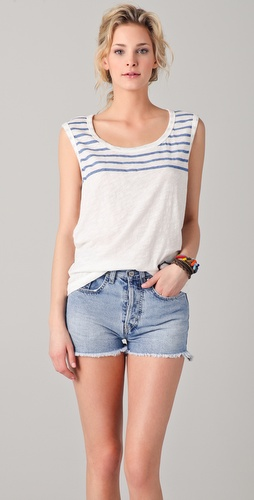 SUNDRY Capri Sleeveless Tee